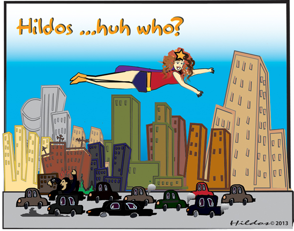 Hildos in the city or more like on the way blog 1