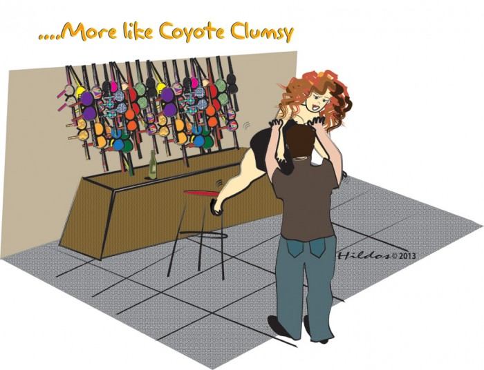More like Coyote Clumsy